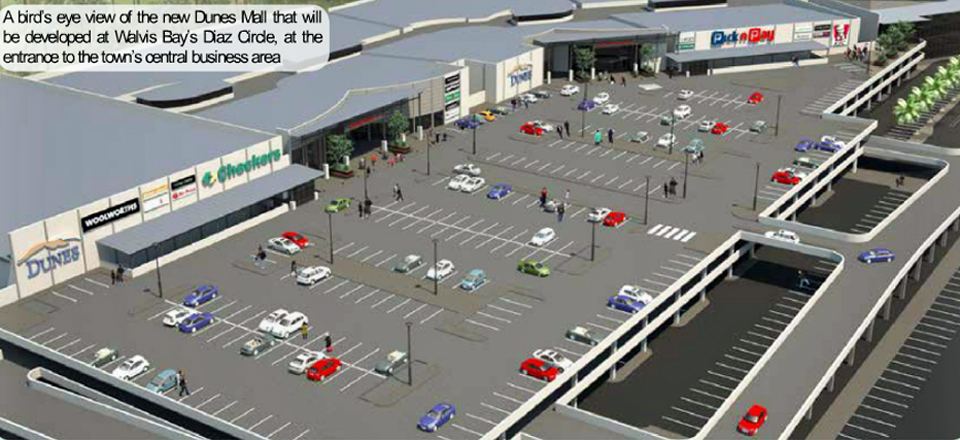 Green Light for huge Retail Investment in Walvis Bay! Construction of eagerly awaited mall to start immediately