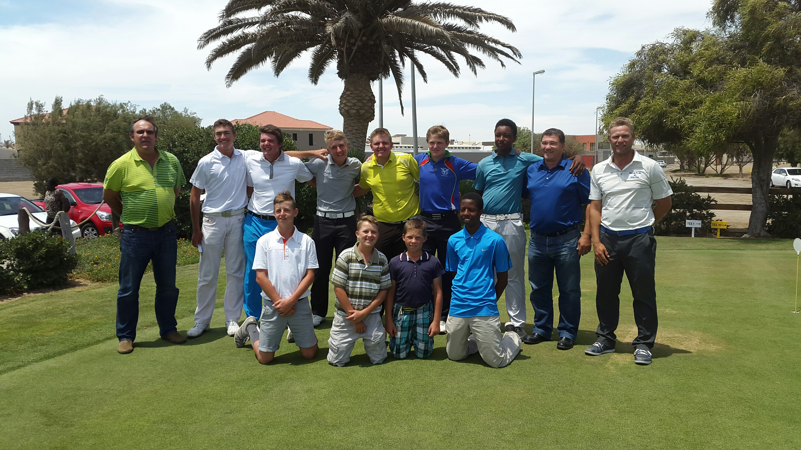 Likius Nande wins Wispeco Coastal Junior Golf Tournament