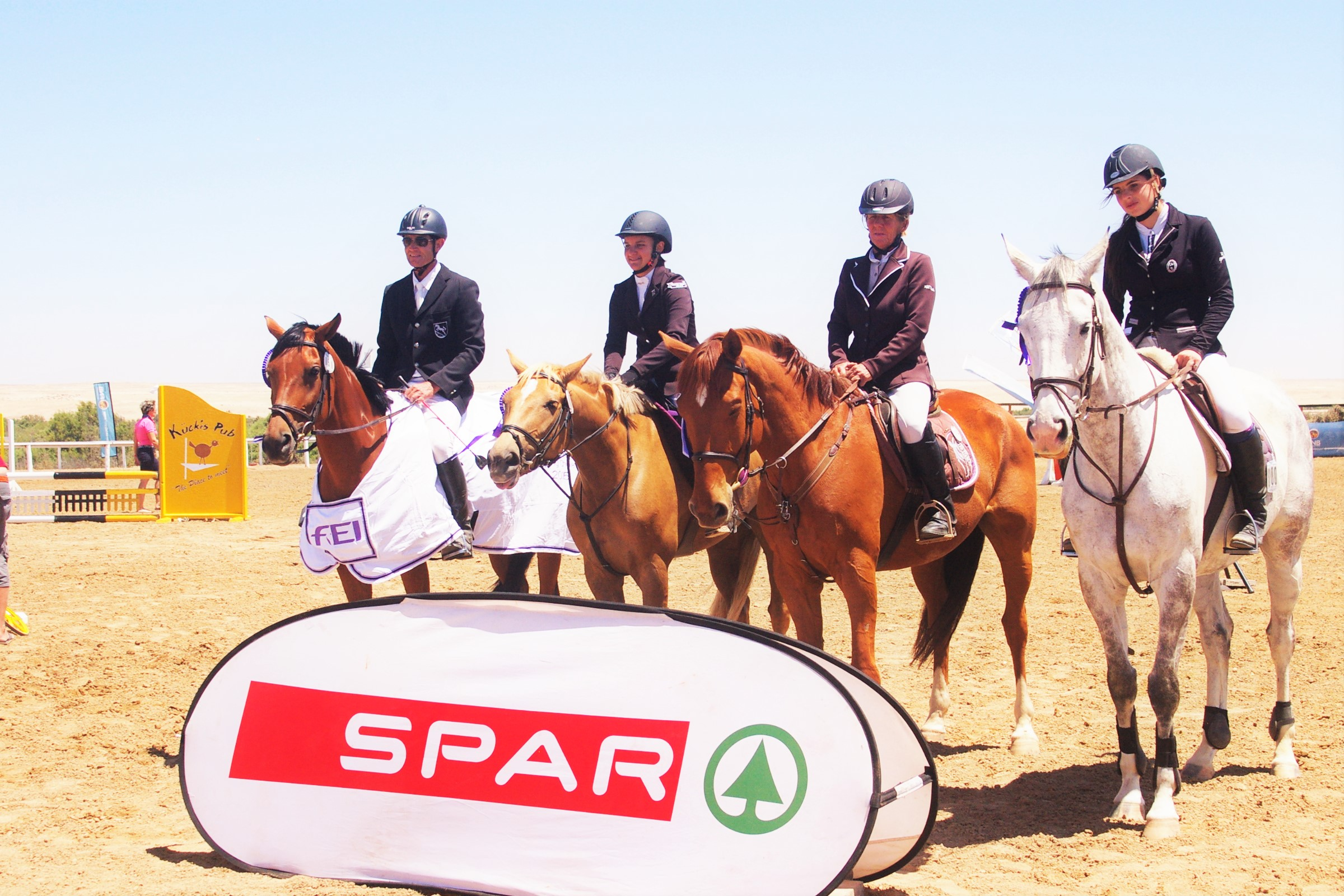 Team Riverside wins Spar Interclub Show Jumping