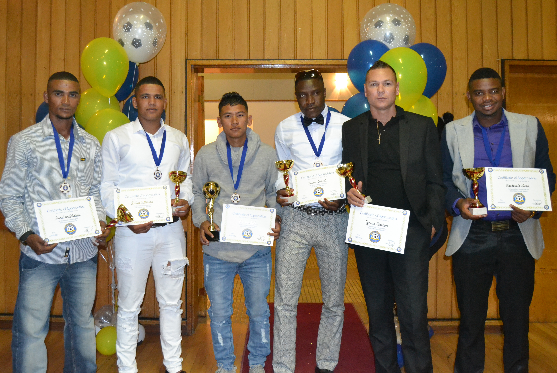 Western Spurs Honored his team players