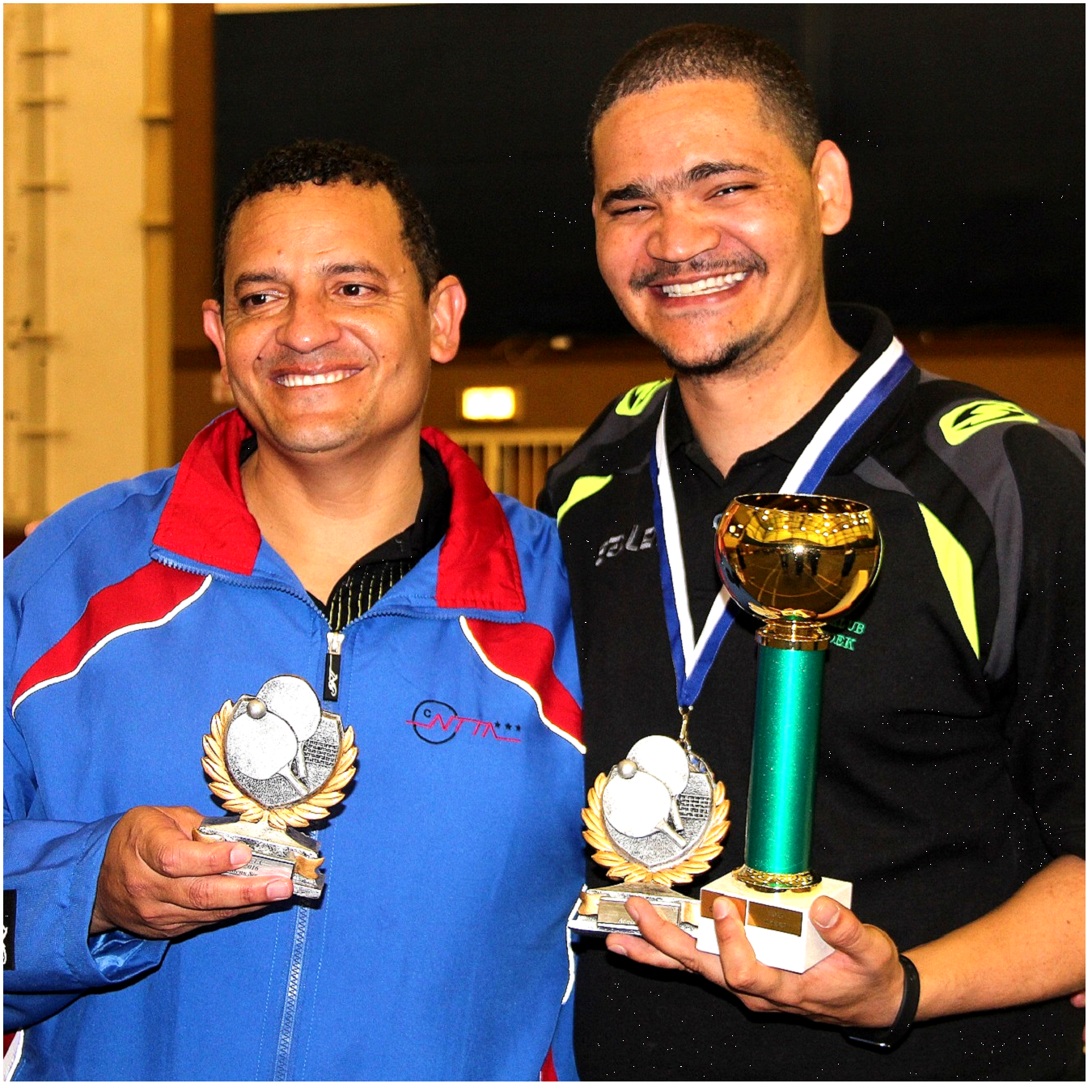 Wayne Green Namibia's new table tennis champ