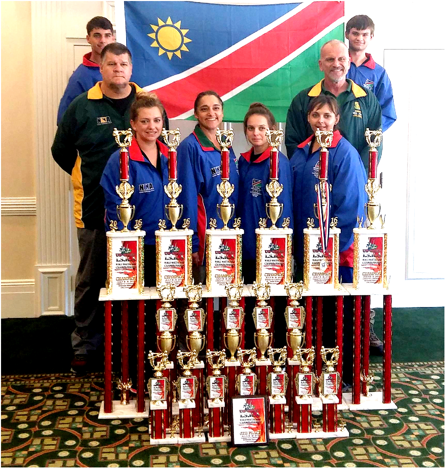 Walvis Bay Kickboxing Club achieve huge success in World Championship