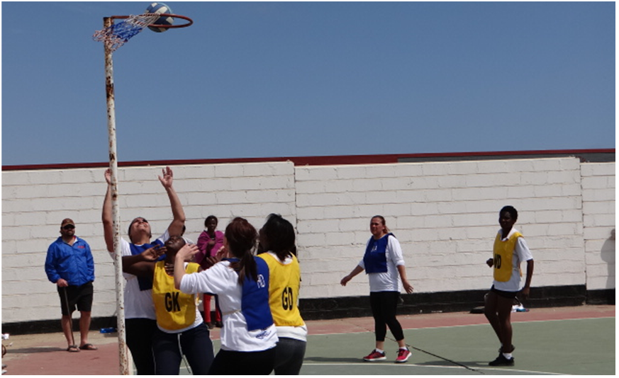 Mondesa Beauties Netball and Blue Waters FC wins Ambassadors Charity Tournamenty