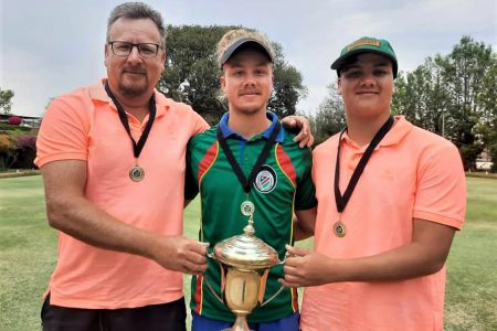 Father and sons National Trips champions