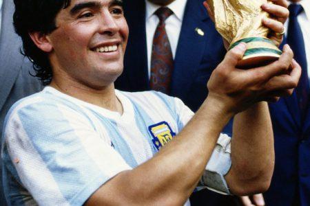 Legendary soccer player Diego Armando Maradona dies
