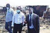 IPC-President Panduleni Ithula visits fire-ravaged Twaloloka