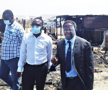 Close to one million Namibians live in informal settlements