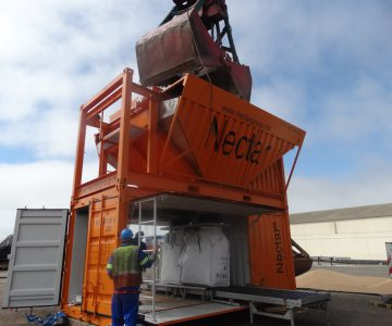 Bagging plant a first for Walvis Bay
