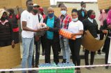 Community Development Group gives refreshments to Shoprite strikers