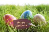 Easter weekend influx of visitors