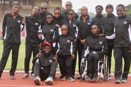 Namibia wins 20 medals at SASAPD