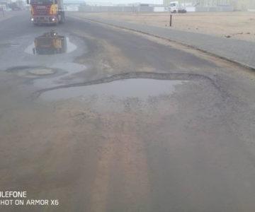 Pothole is now a grave traffic danger – please act!