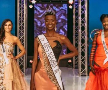 Miss Namibia '21 a Walvis Bay'ite