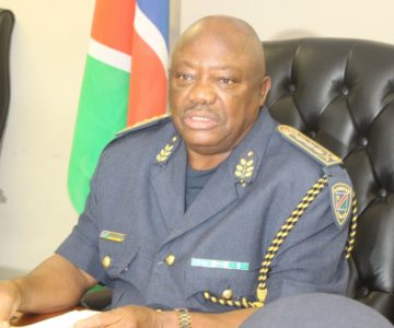 Safety and Security and Nampol high level delegation at the coast