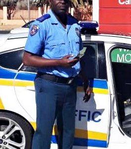 Walvis Bay pays tribute to traffic Officer Erastus Victor