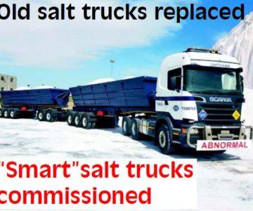 """Smart"" salt trucks commissioned"