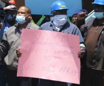 Workers want Walvis Bay Salt to shelf retrenchment plans